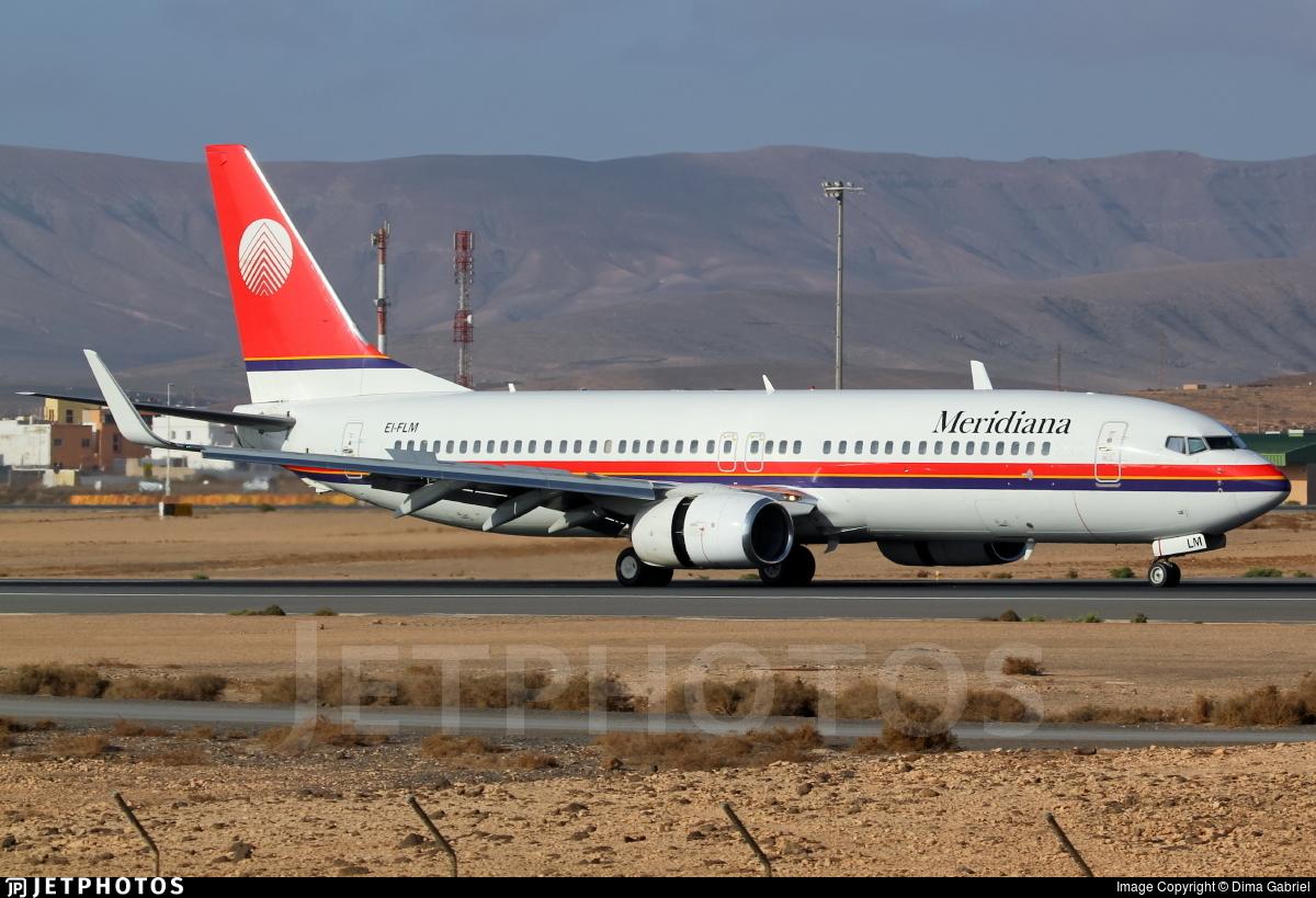 EI-FLM - Boeing 737-85F - Meridiana