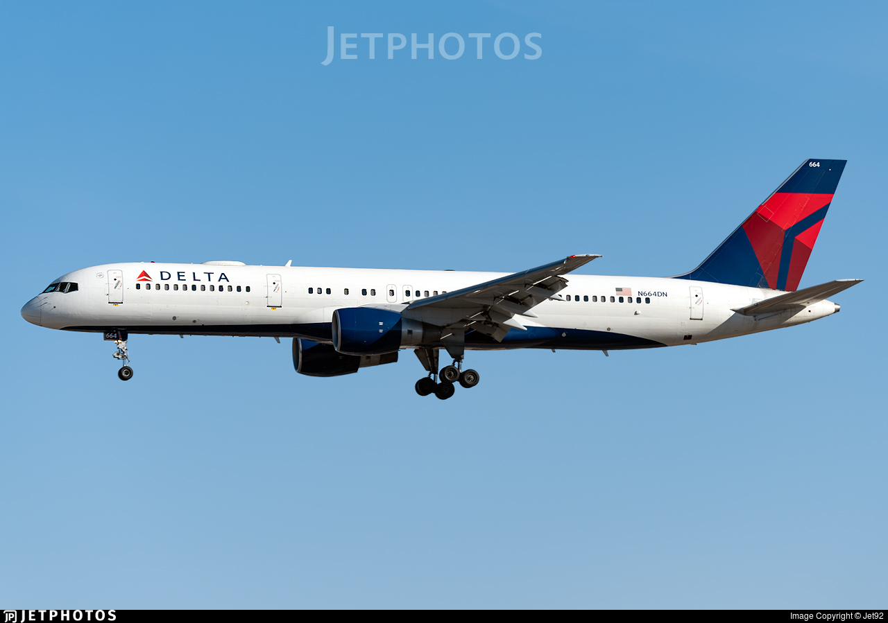 N664DN - Boeing 757-232 - Delta Air Lines