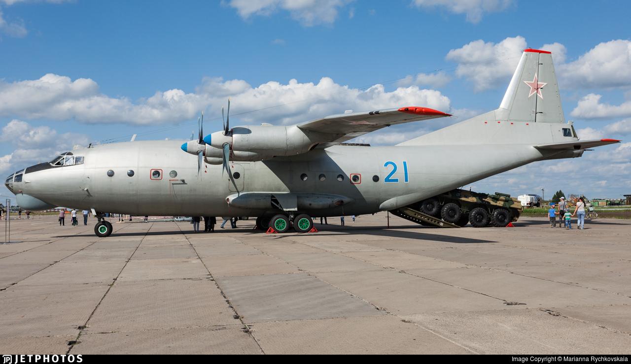 21 - Antonov An-12BK - Russia - Air Force