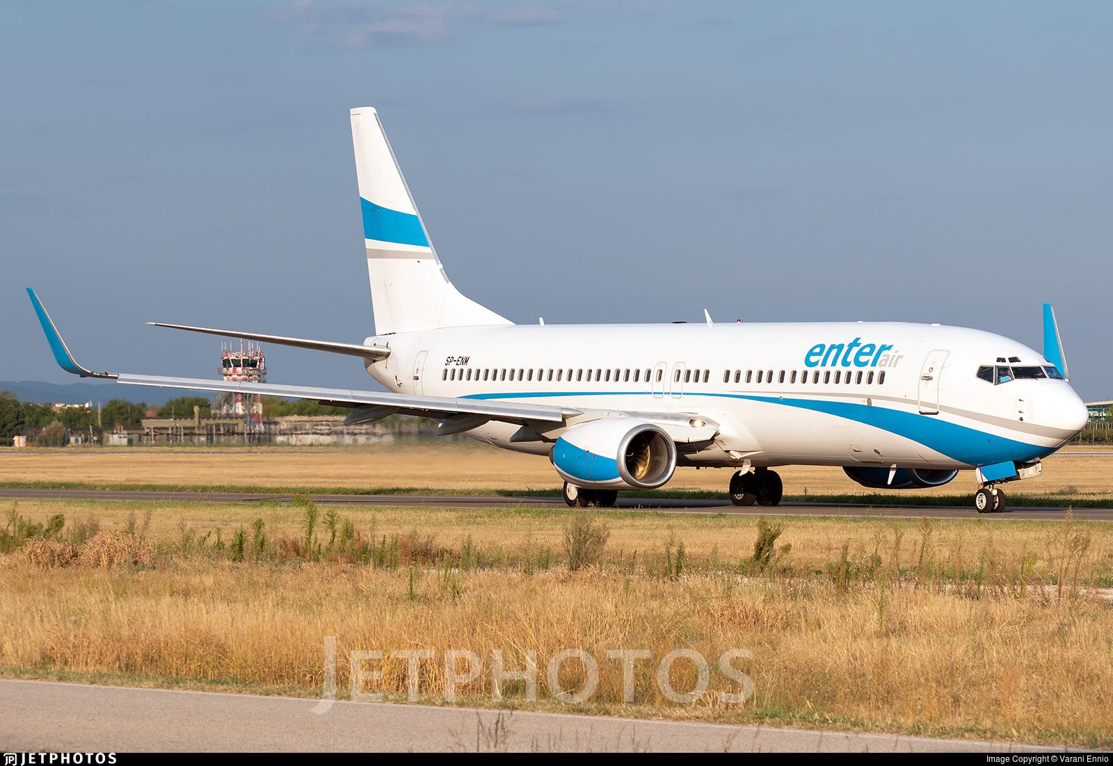 SP-ENM - Boeing 737-8CX - Enter Air