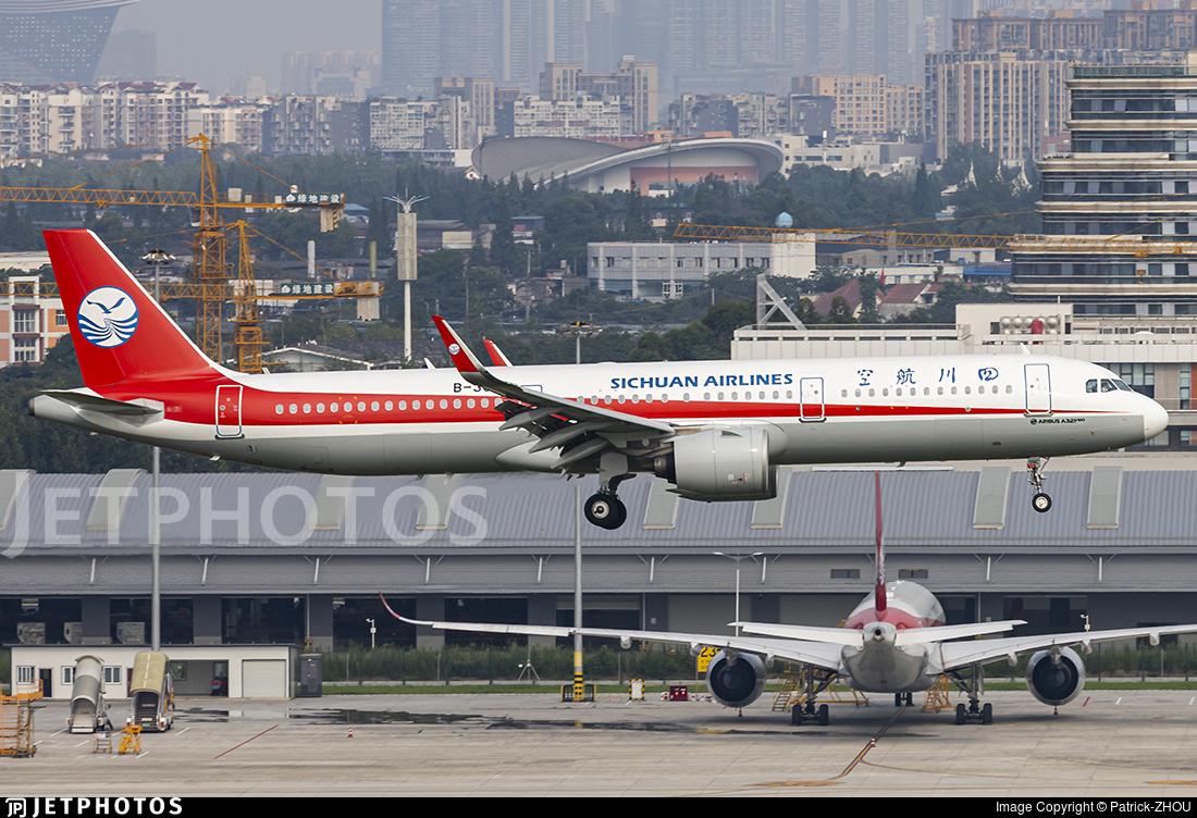 B-309C - Airbus A321-271N - Sichuan Airlines