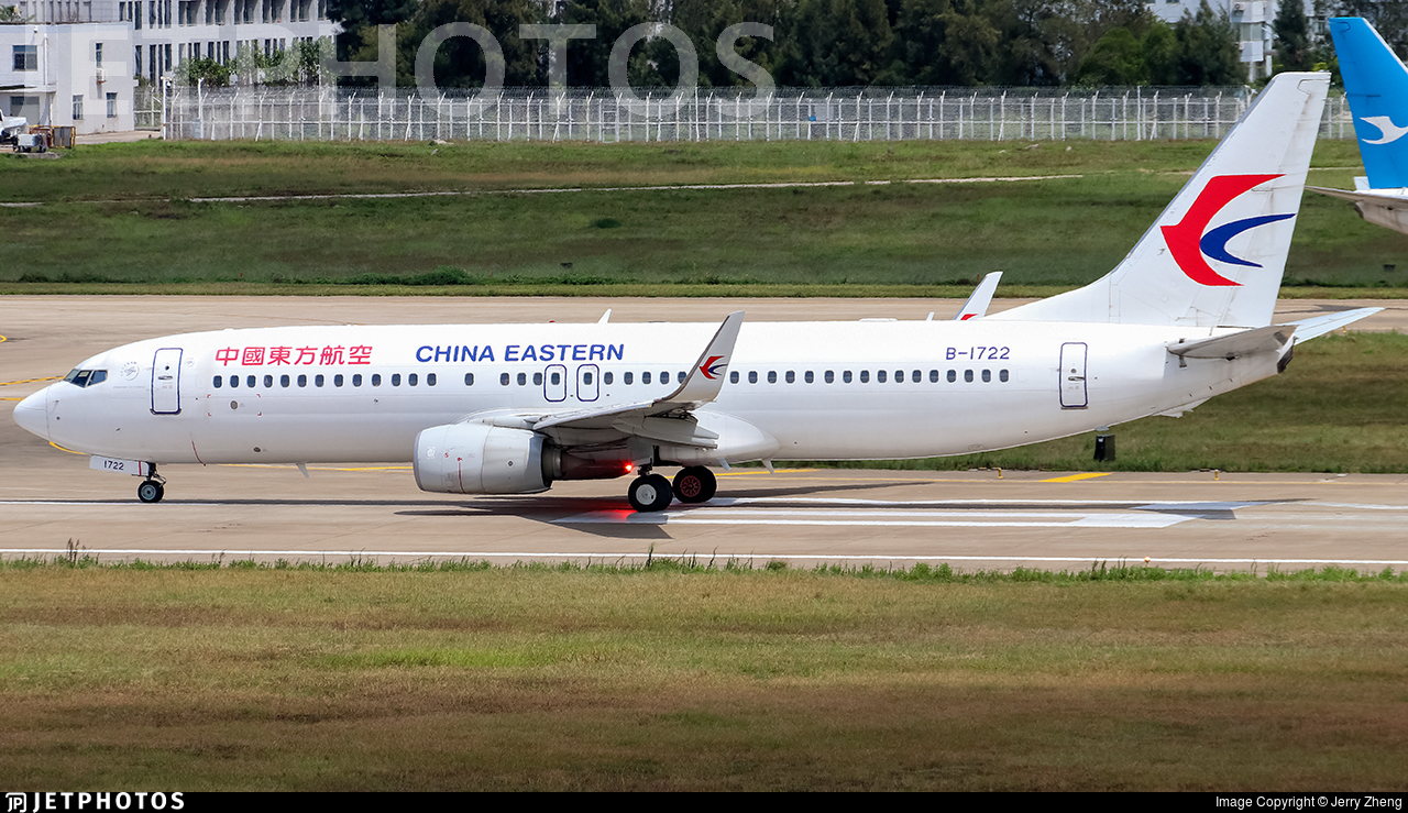 B-1722 - Boeing 737-89P - China Eastern Airlines