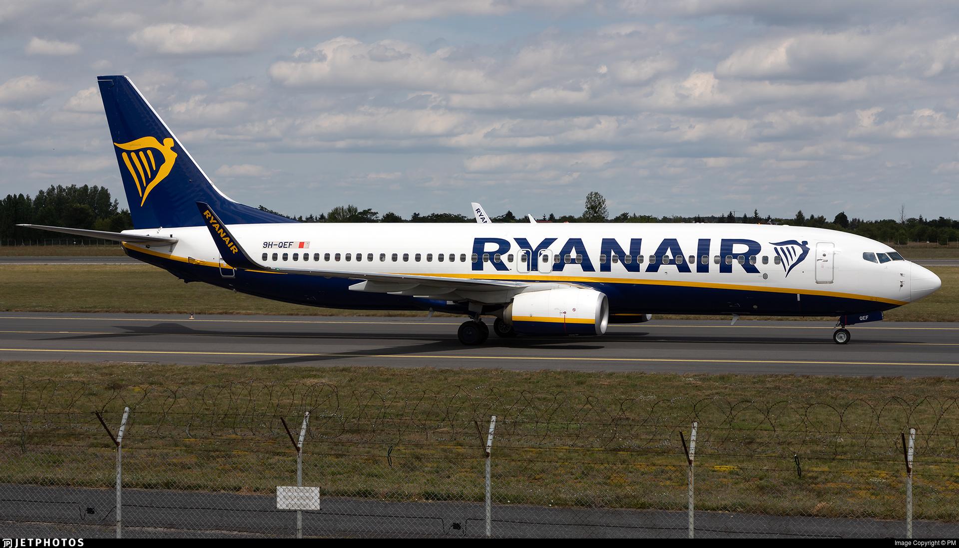 9H-QEF - Boeing 737-8AS - Ryanair (Malta Air)