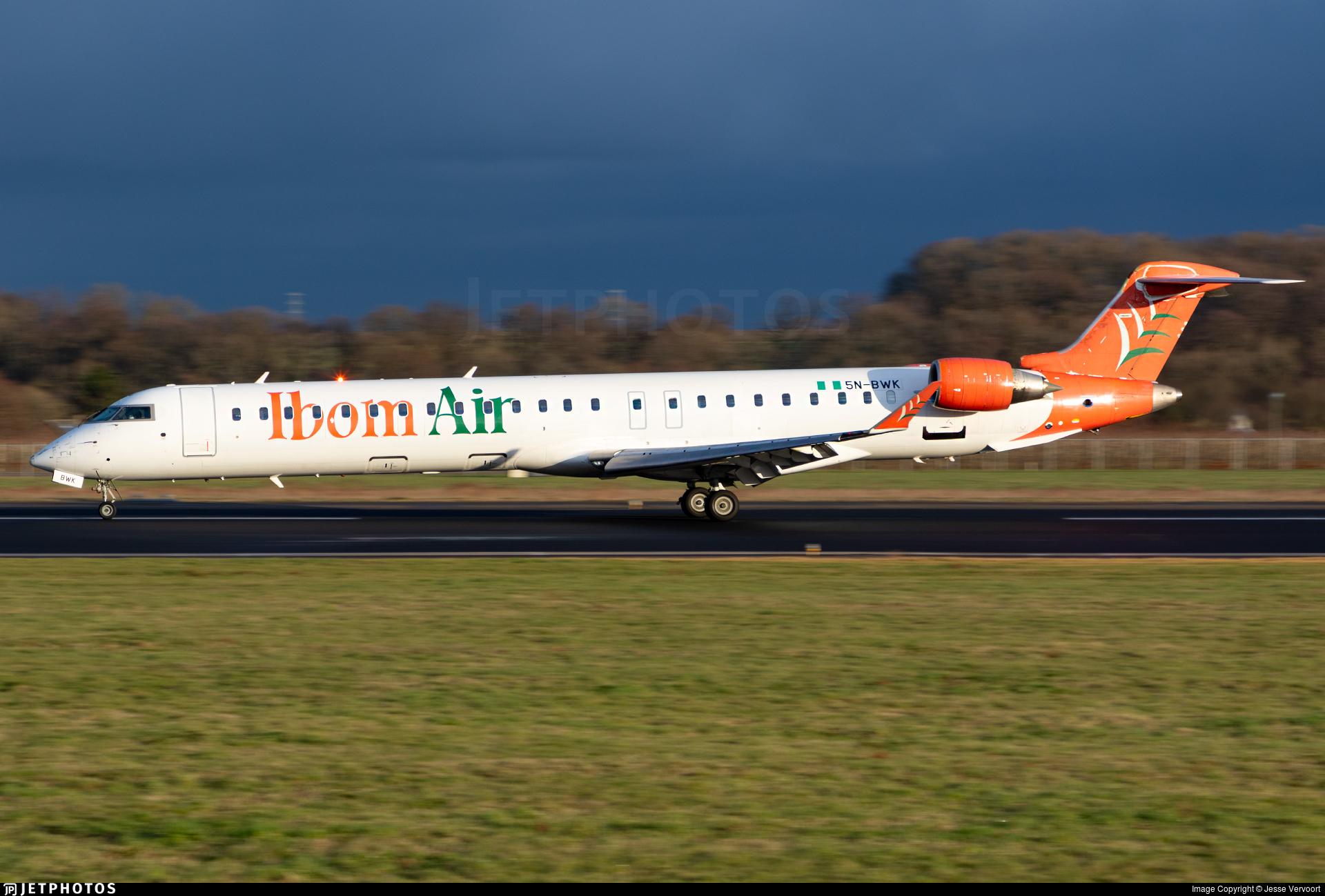 5N-BWK - Bombardier CRJ-900 - Ibom Air