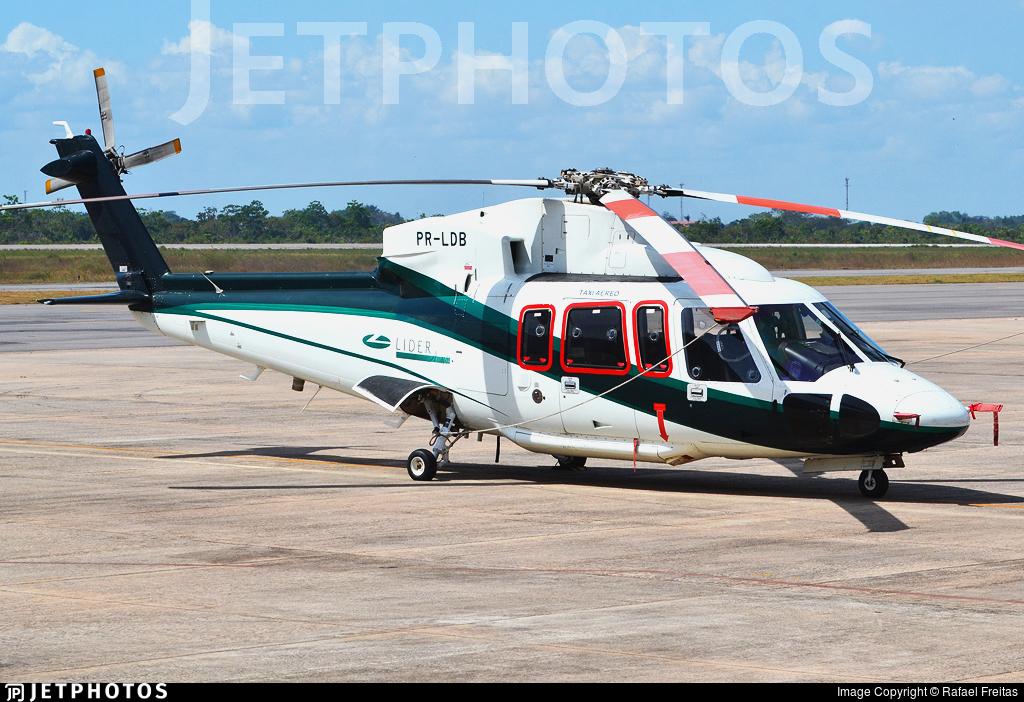PR-LDB - Sikorsky S-76C - Líder Táxi Aéreo
