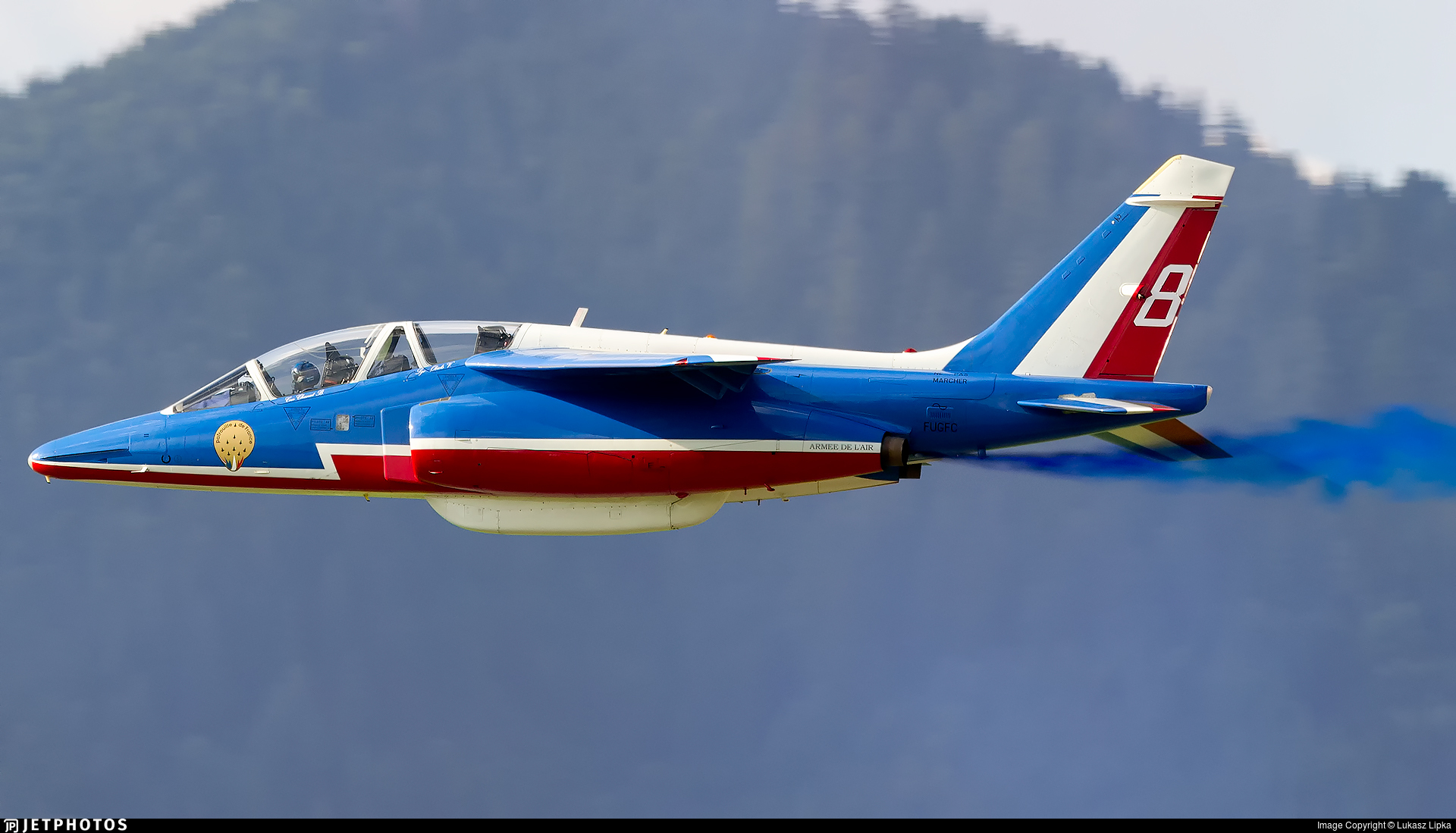 E85 - Dassault-Breguet-Dornier Alpha Jet E - France - Air Force