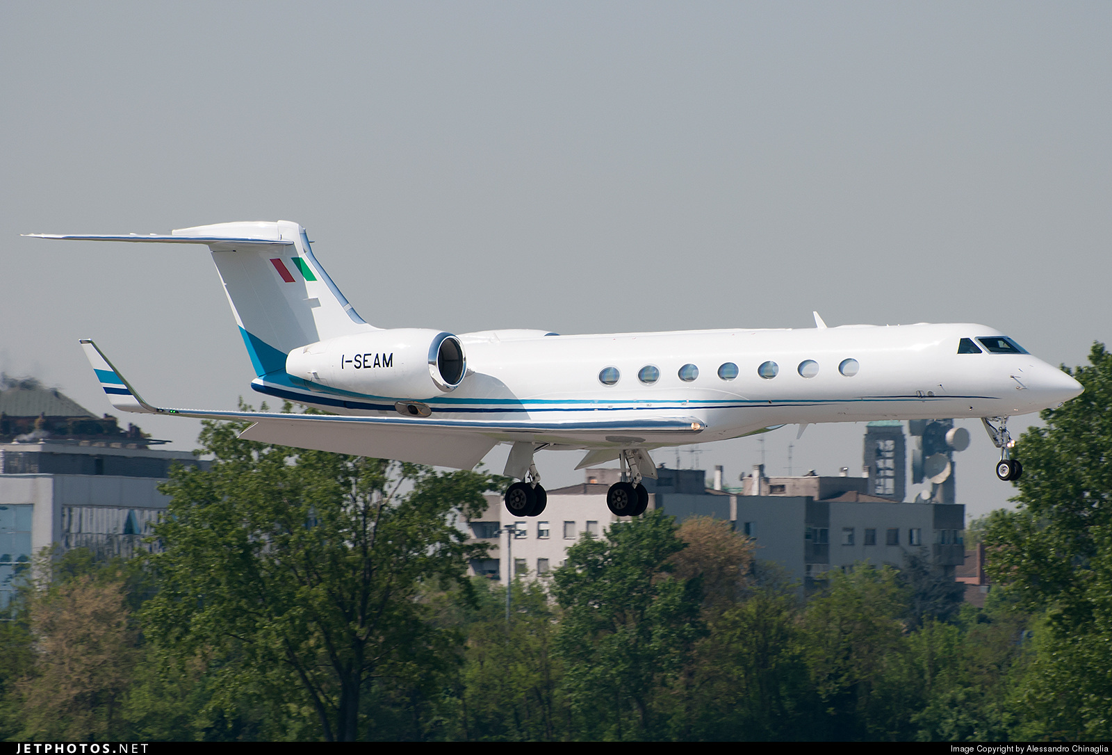 I-SEAM - Gulfstream G550 - SNAM - Servizi Aerei