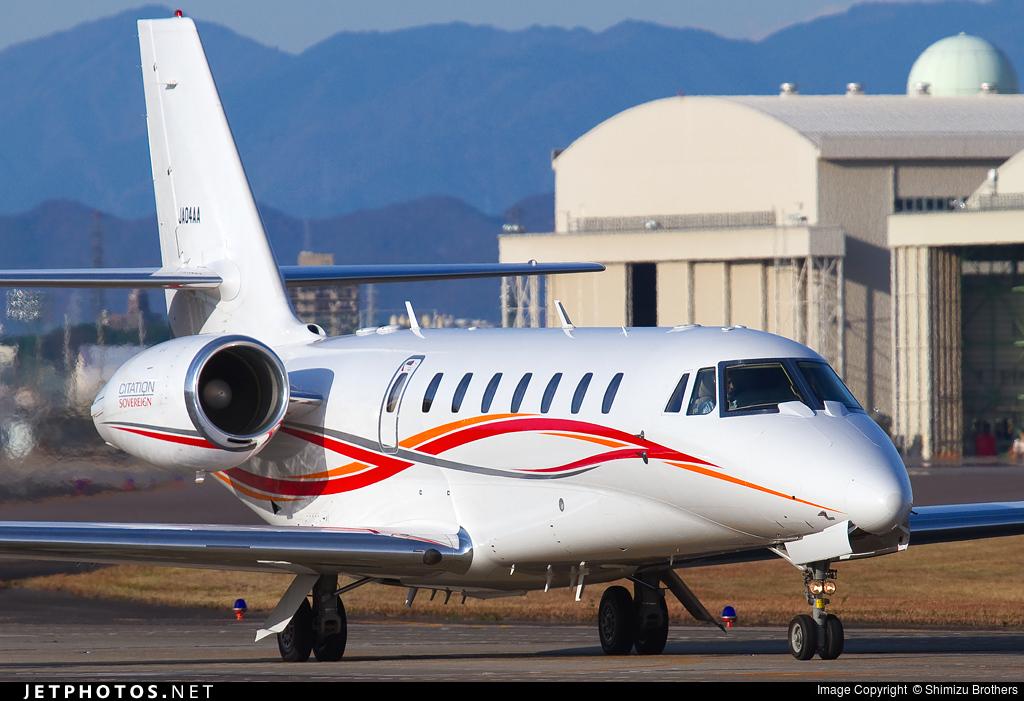JA04AA - Cessna 680 Citation Sovereign - Aero Asahi