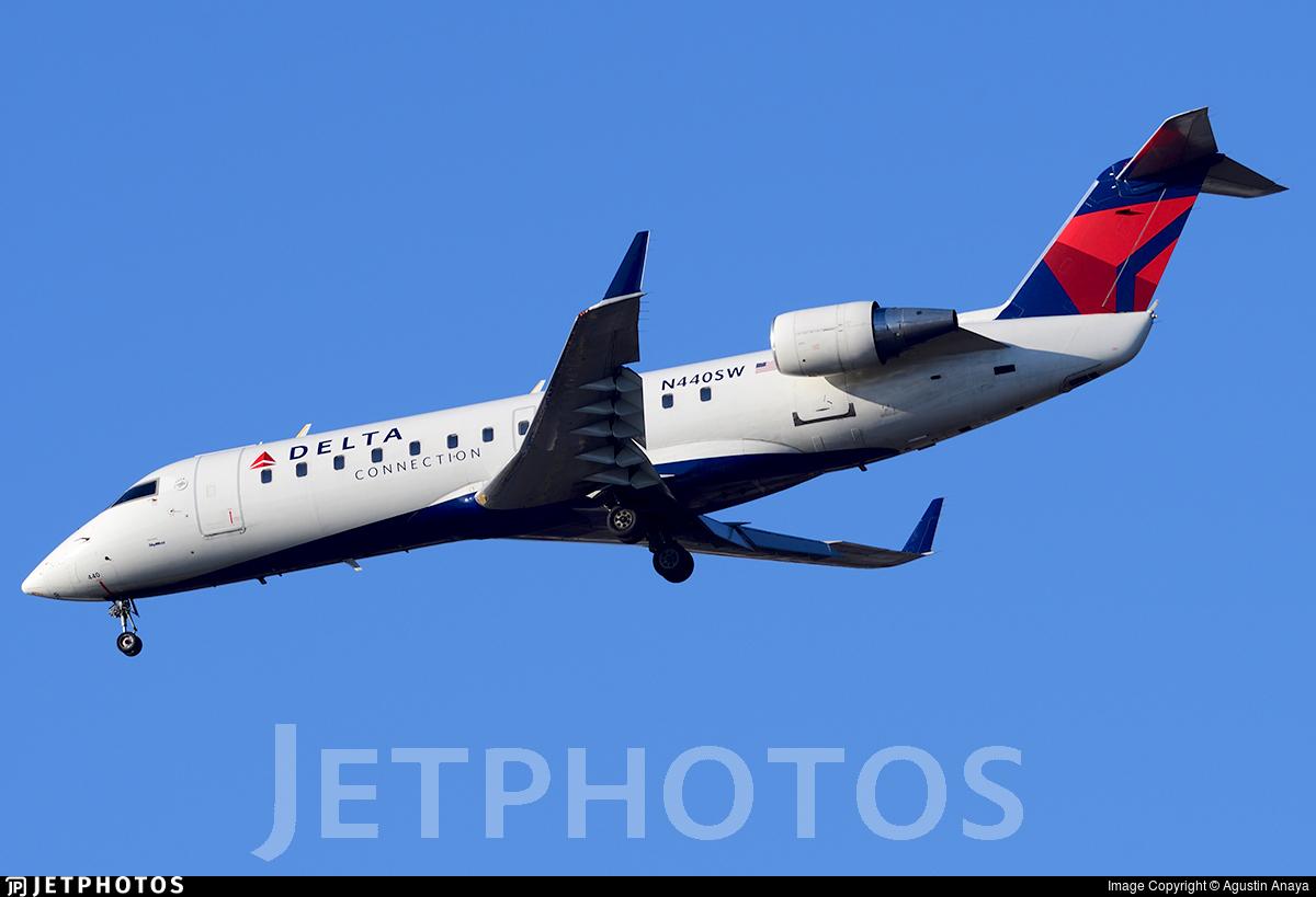 N440SW - Bombardier CRJ-200LR - Delta Connection (SkyWest Airlines)