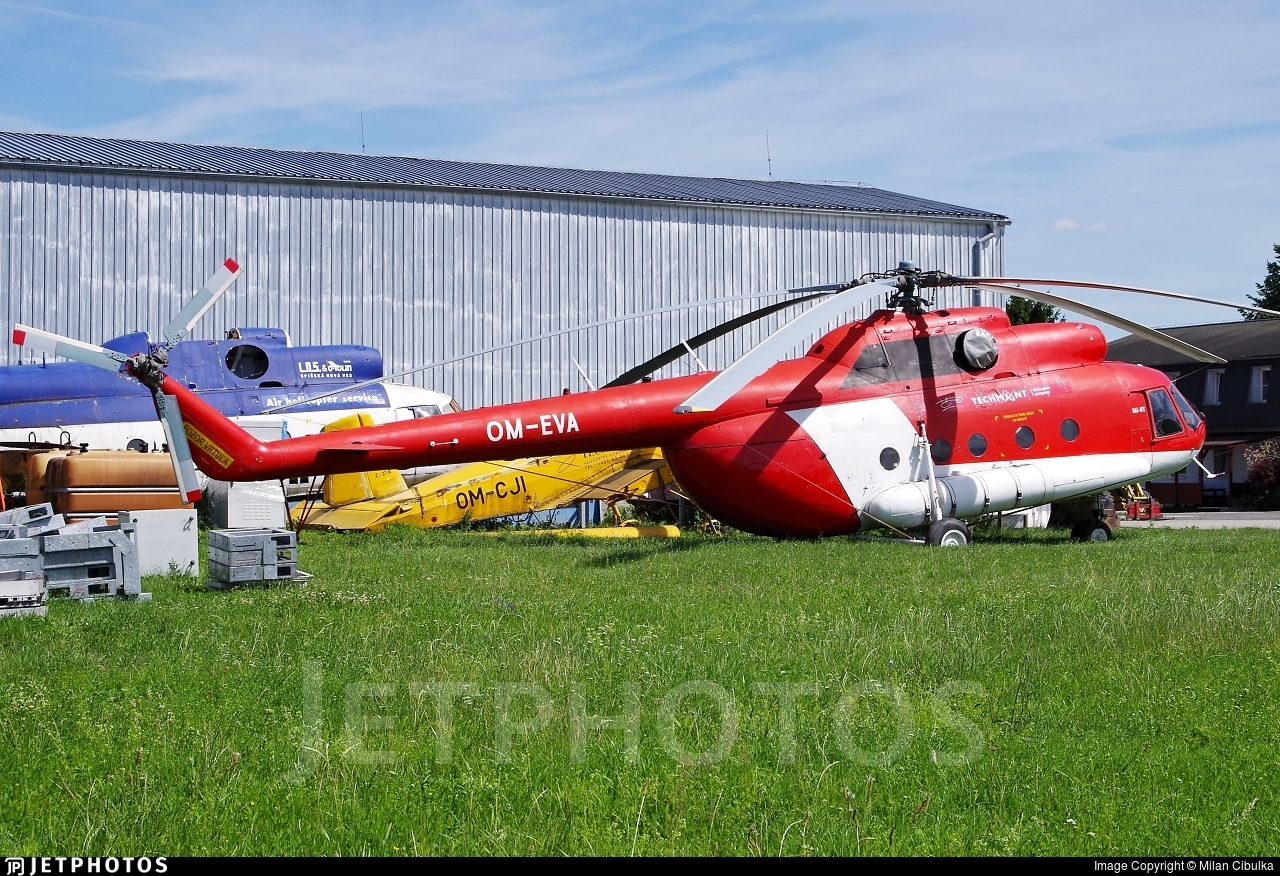 OM-EVA - Mil Mi-8T Hip - TECH-MONT Helicopter Company