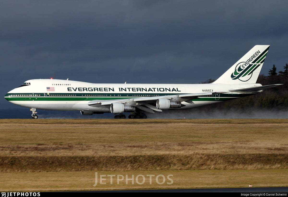 N486EV - Boeing 747-212B(SF) - Evergreen International Airlines
