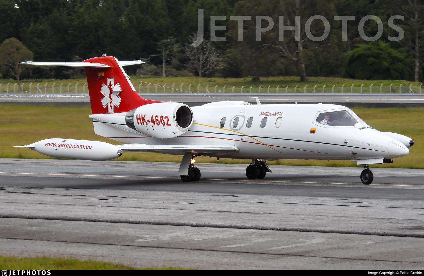 HK-4662 - Bombardier Learjet 35A - SARPA - Servicios Aereos Panamericanos
