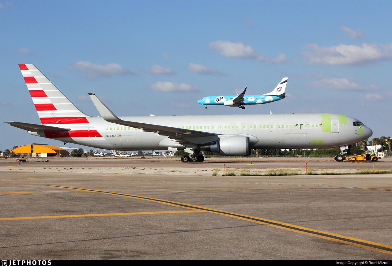 N382AN - Boeing 767-323(ER)(BDSF) - Cargo Aircraft Management