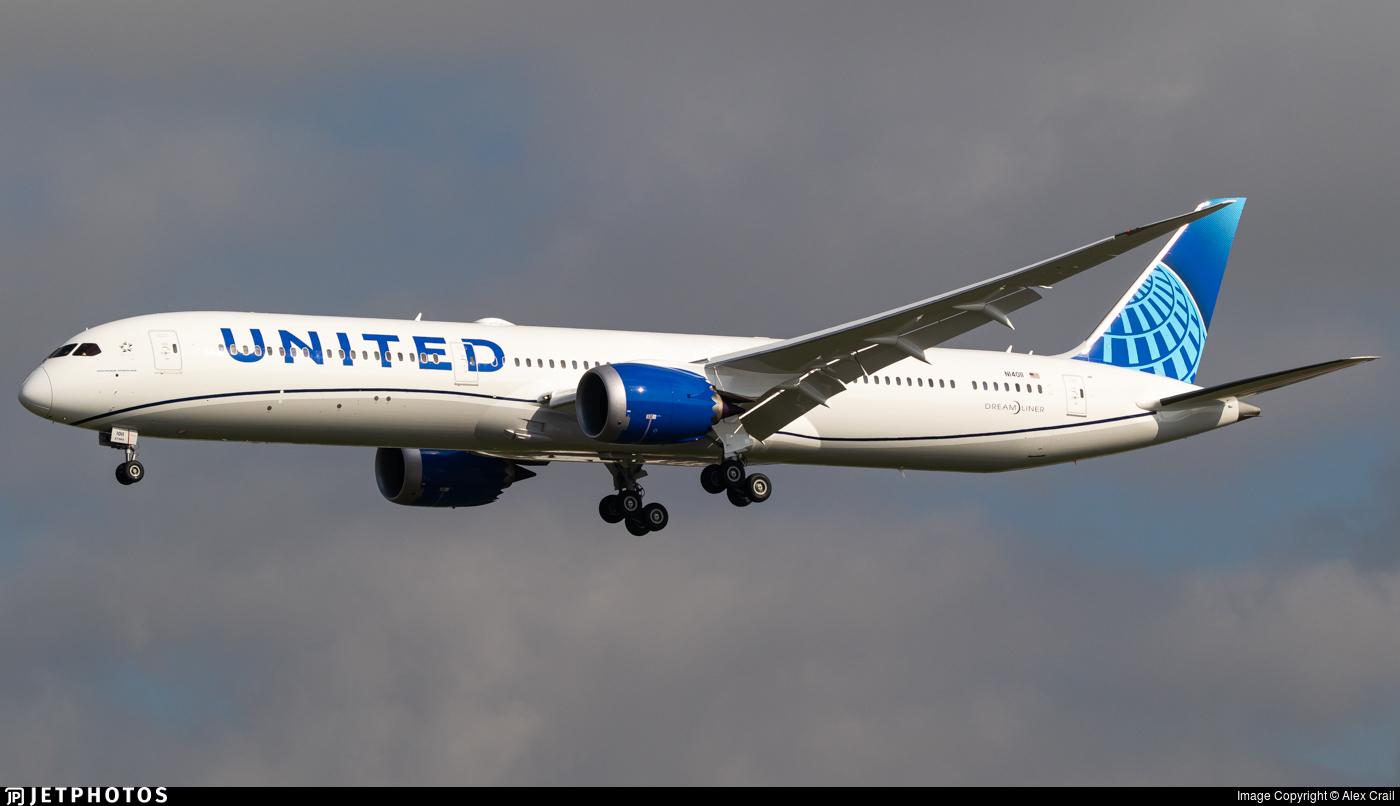 N14011 - Boeing 787-10 Dreamliner - United Airlines