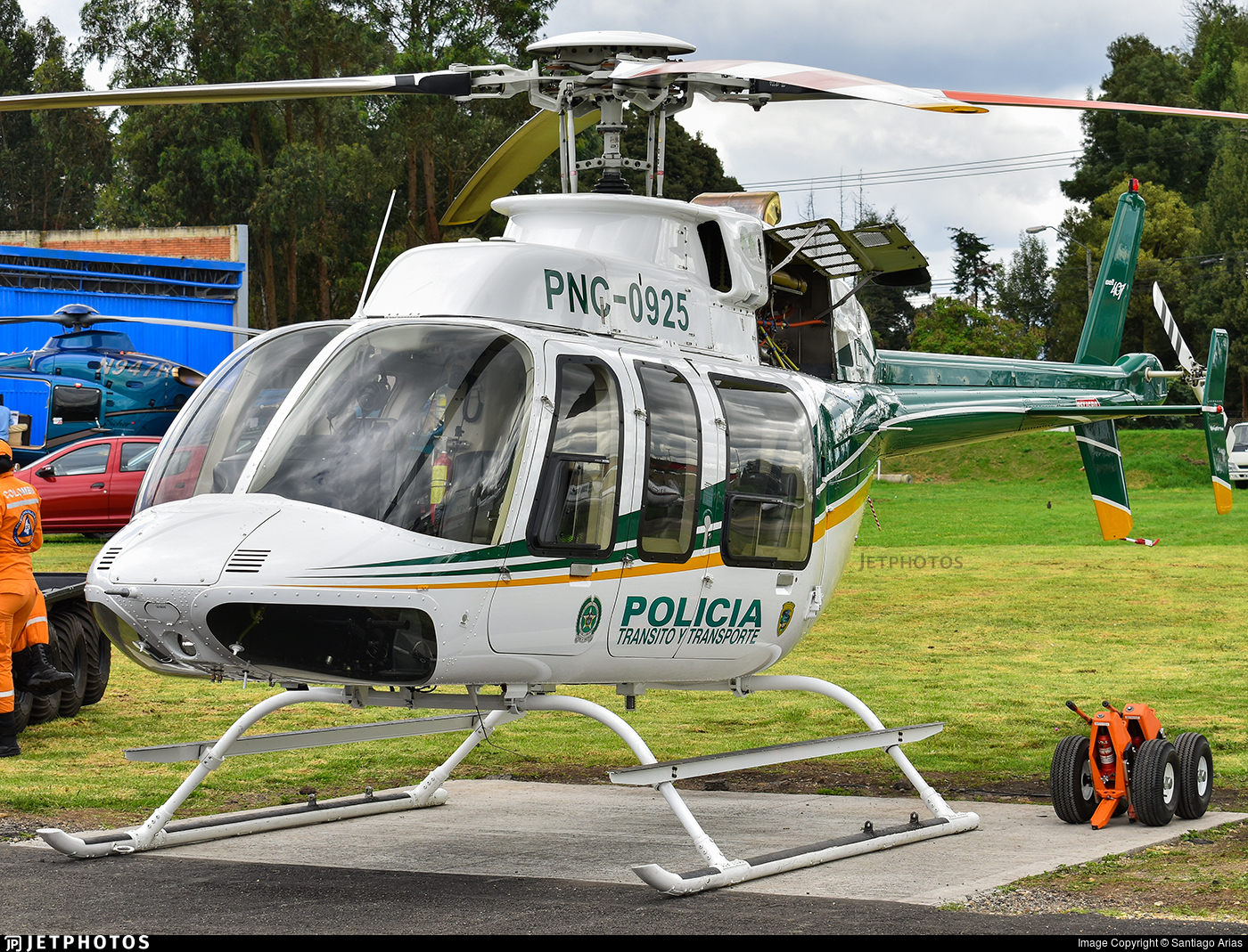 PNC-0925 - Bell 407 - Colombia - Police