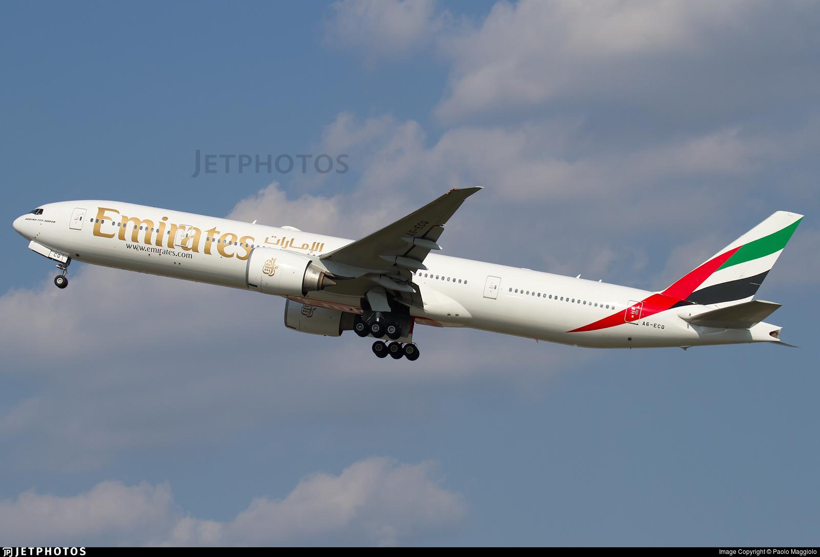 A6-ECQ - Boeing 777-31HER - Emirates