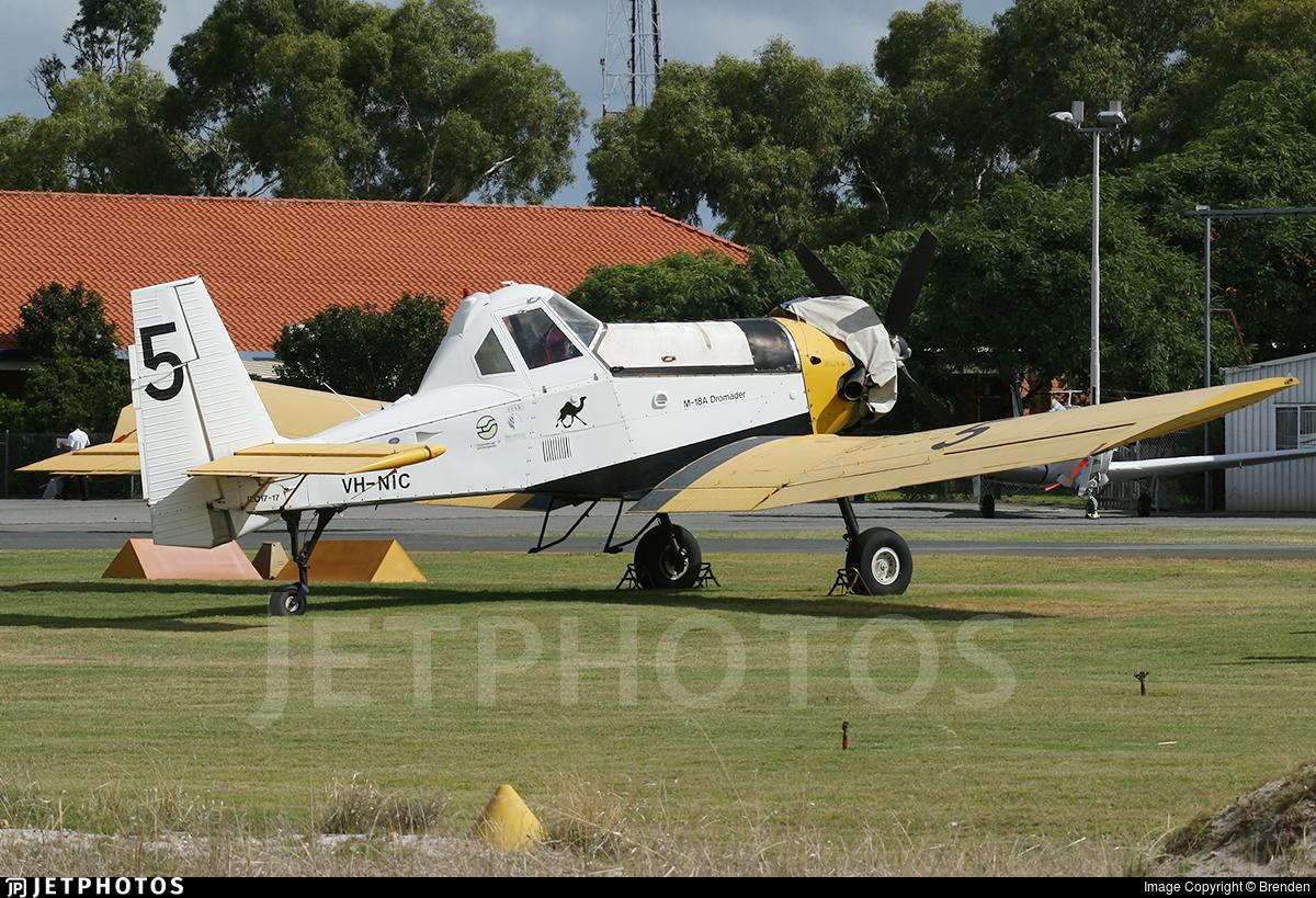 VH-NIC - PZL-Mielec M-18 Dromader - Dunn Aviation