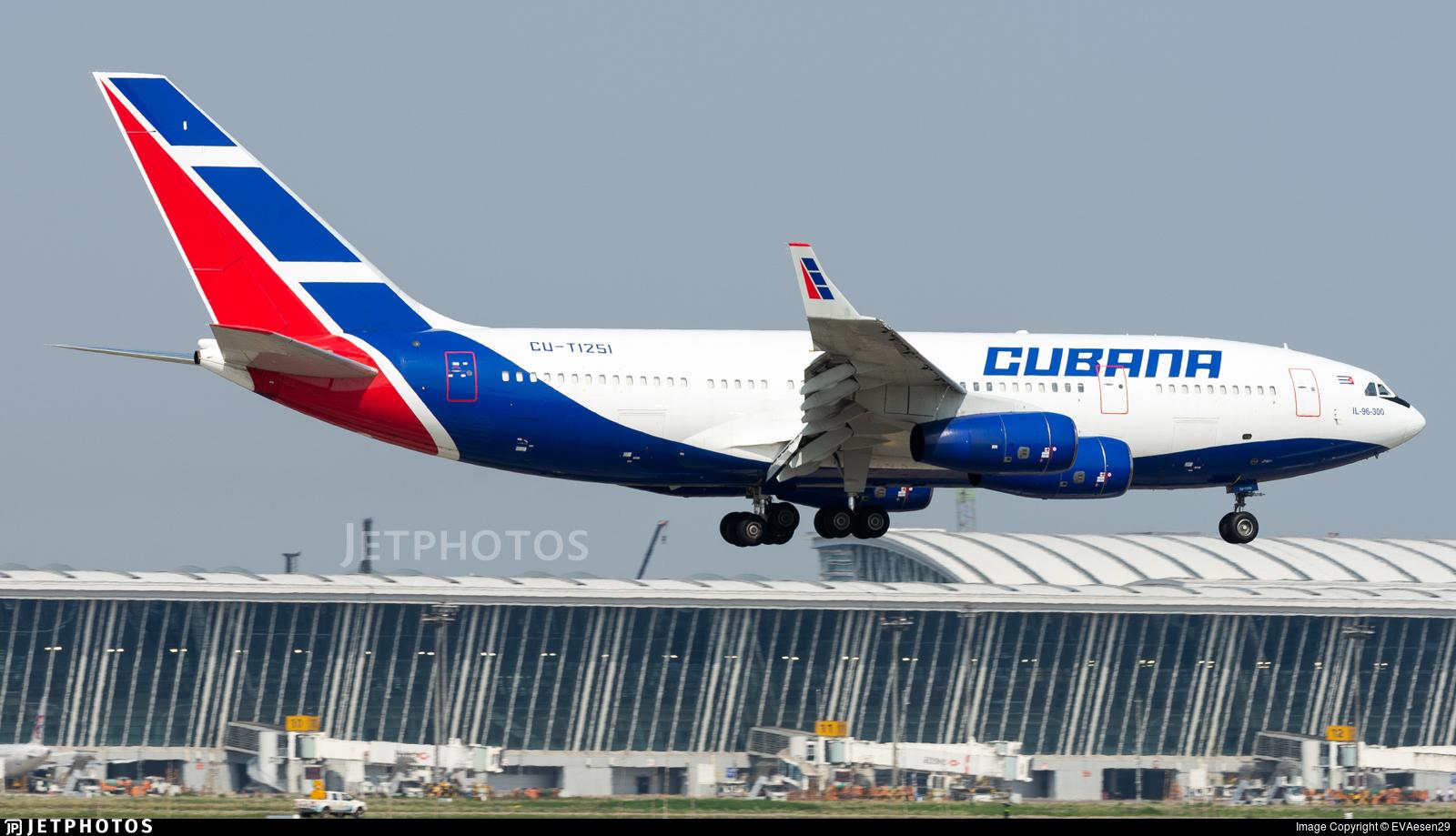 CU-T1251 - Ilyushin IL-96-300M - Cubana de Aviación