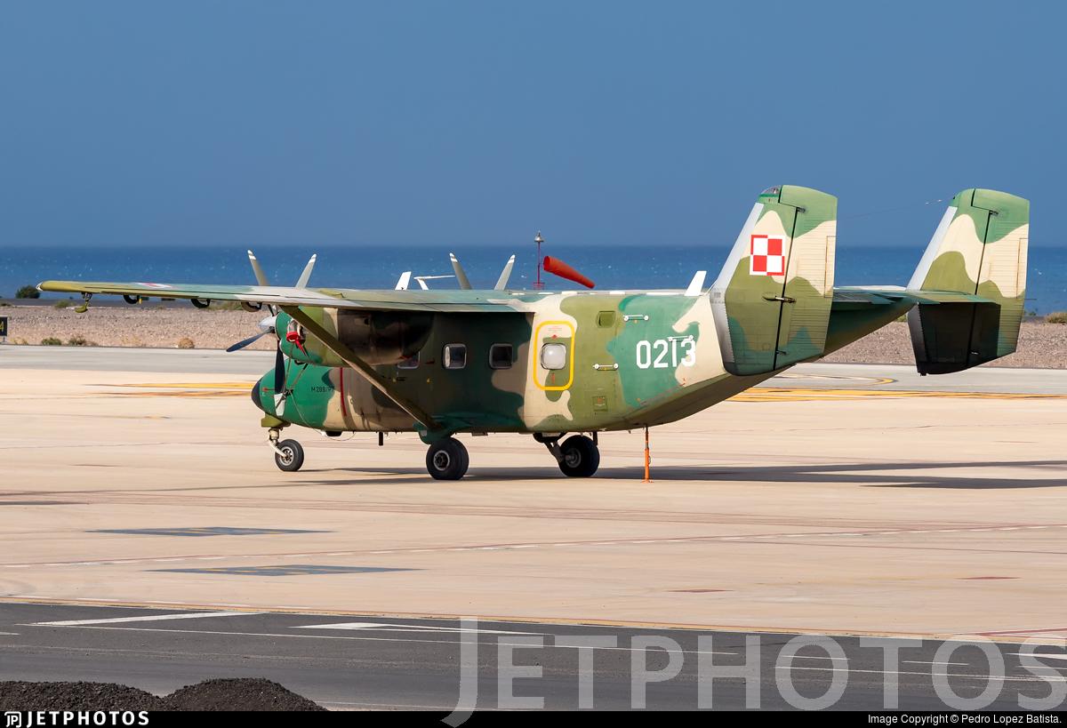 0213 - PZL-Mielec M-28B/PT Skytruck - Poland - Air Force
