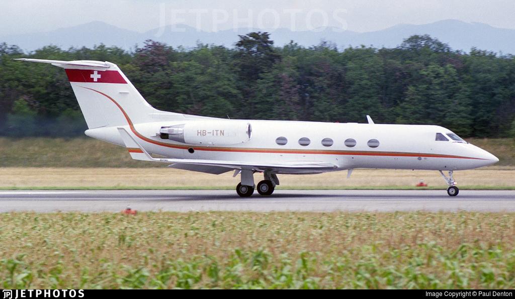 HB-ITN - Gulfstream G-III - Private