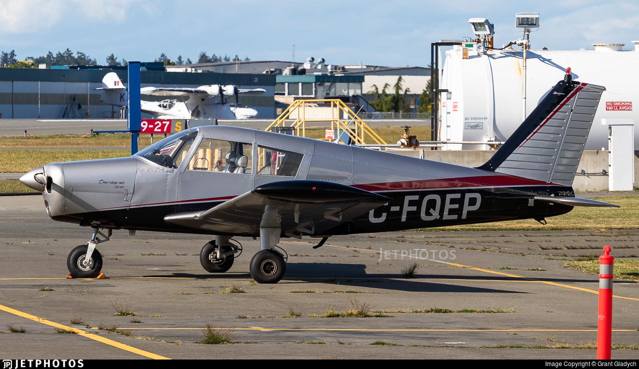 C-FQEP - Piper PA-28-140 Cherokee B - Victoria Flying Club