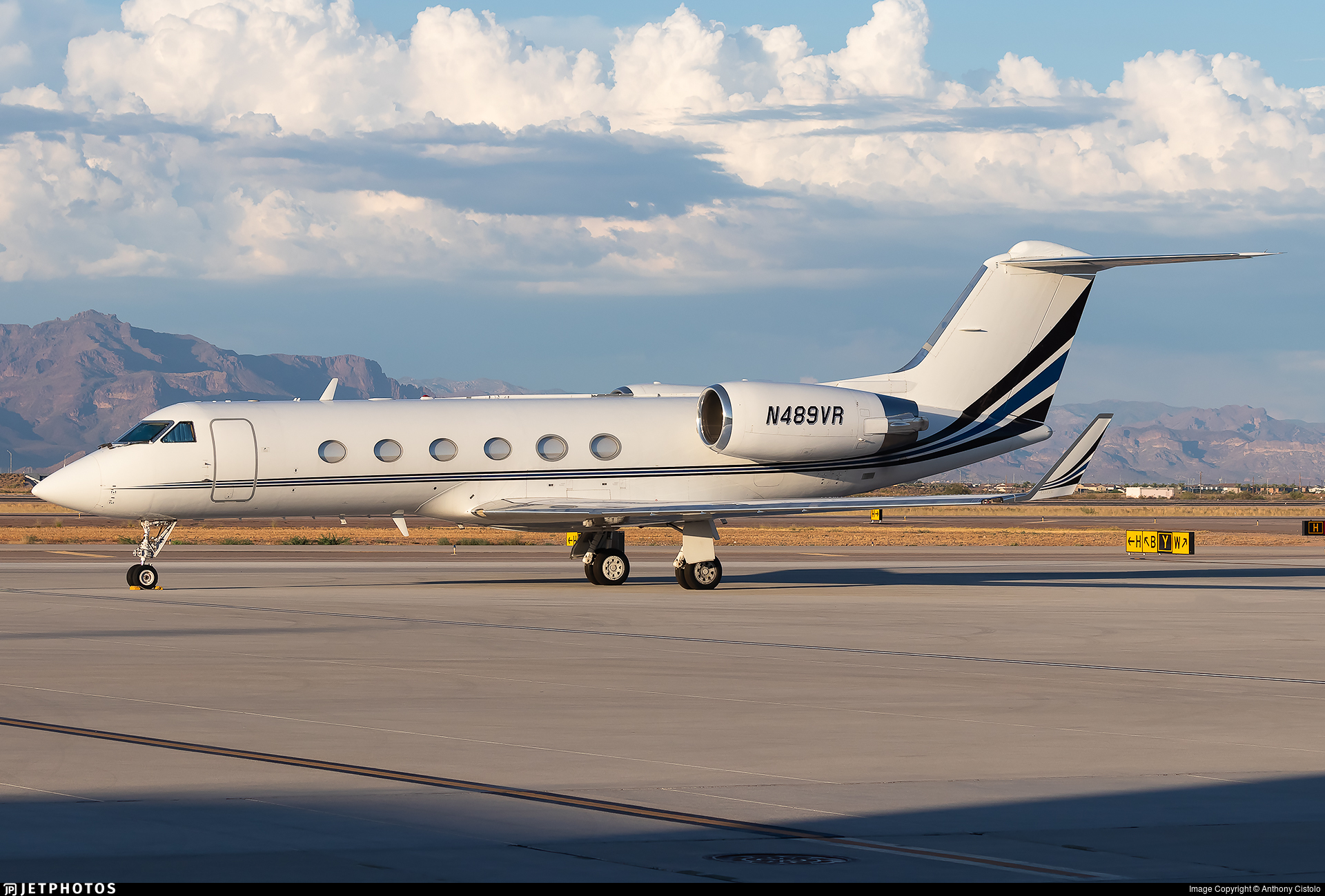N489VR - Gulfstream G-IV(SP) - Private