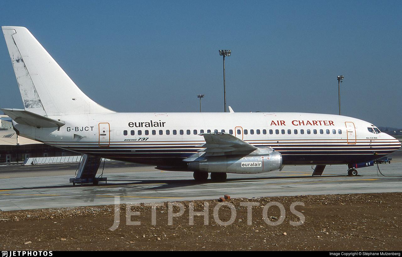 G-BJCT - Boeing 737-204(Adv) - Euralair International