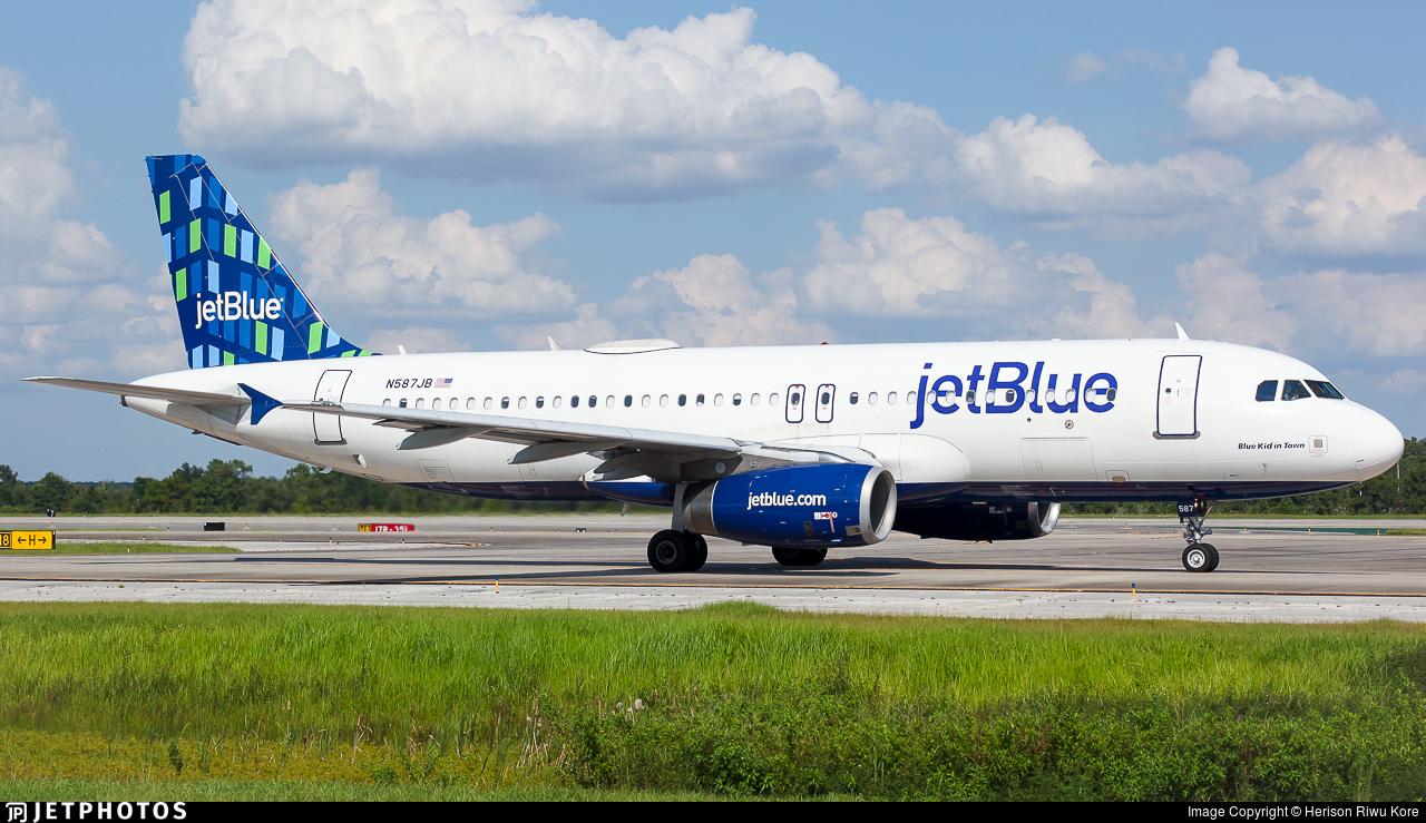 N587JB - Airbus A320-232 - jetBlue Airways