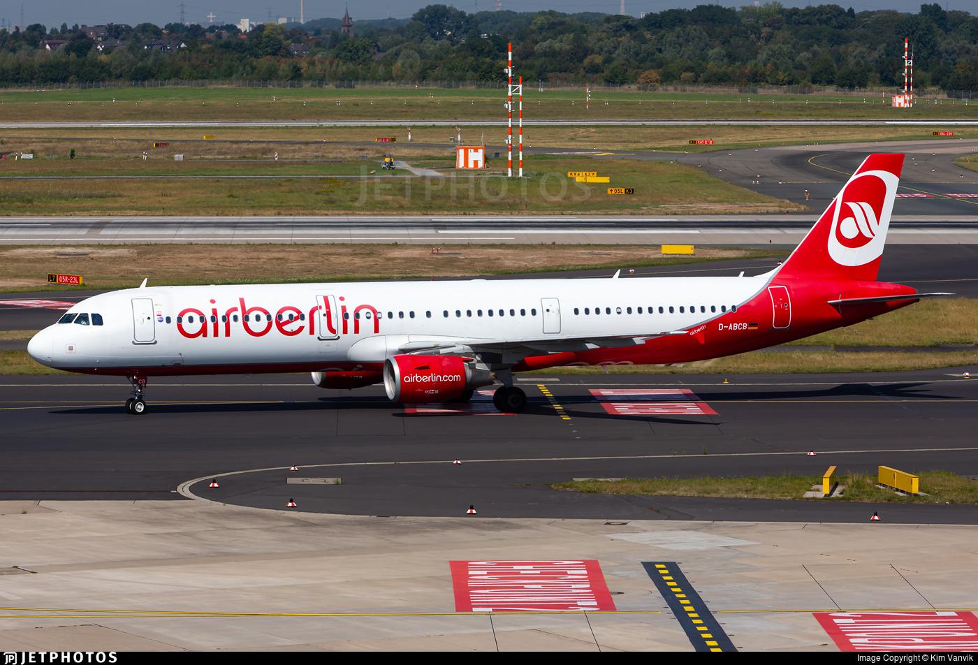 D-ABCB - Airbus A321-211 - Air Berlin