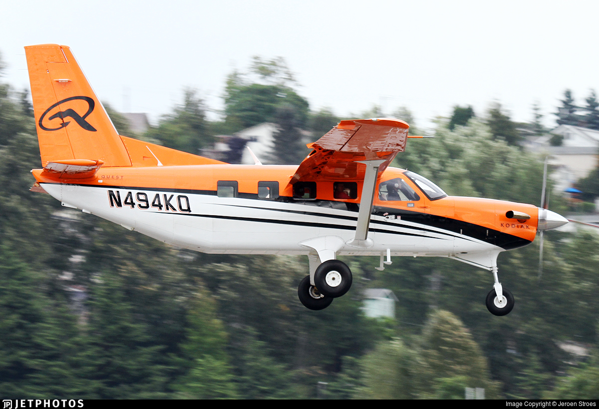 N494KQ - Quest Aircraft Kodiak 100 - Private