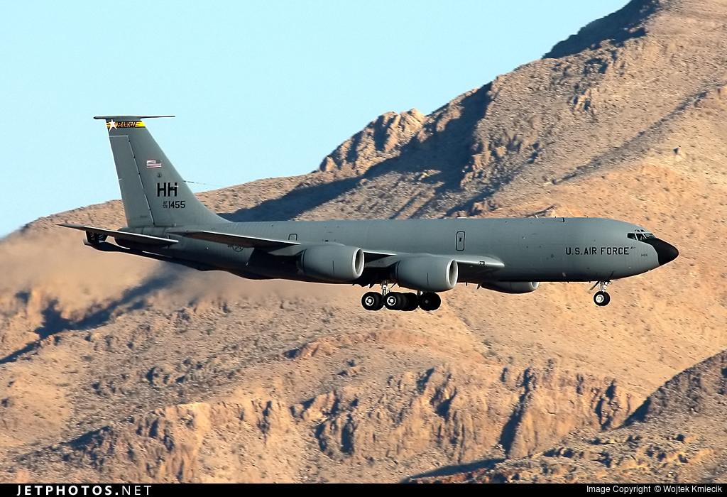 57-1455 - Boeing KC-135R Stratotanker - United States - US Air Force (USAF)