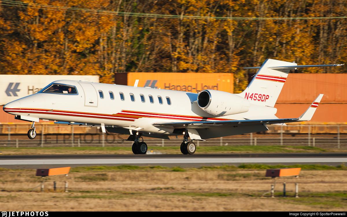 N459DP - Bombardier Learjet 45 - Private