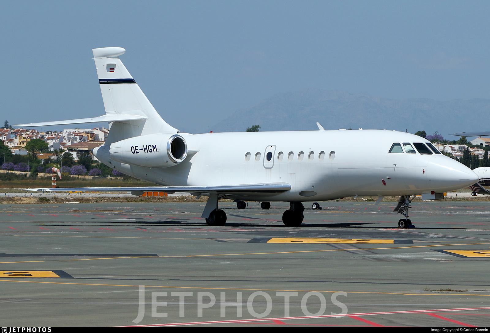 OE-HGM - Dassault Falcon 2000EX - Europ Star Aircraft