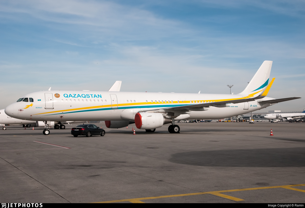UP-A2101 - Airbus A321-211(CJ) - Kazakhstan - Government