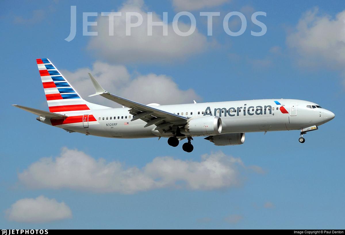 N326RP - Boeing 737-8 MAX - American Airlines