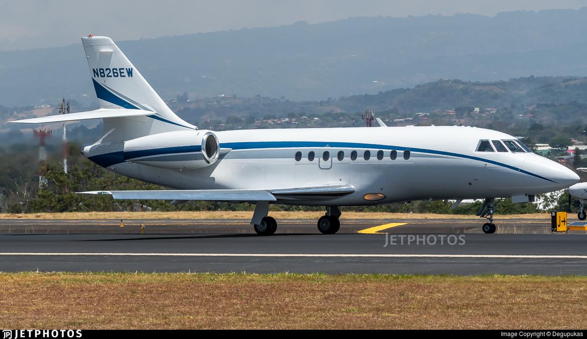 N826EW - Dassault Falcon 2000 - Private