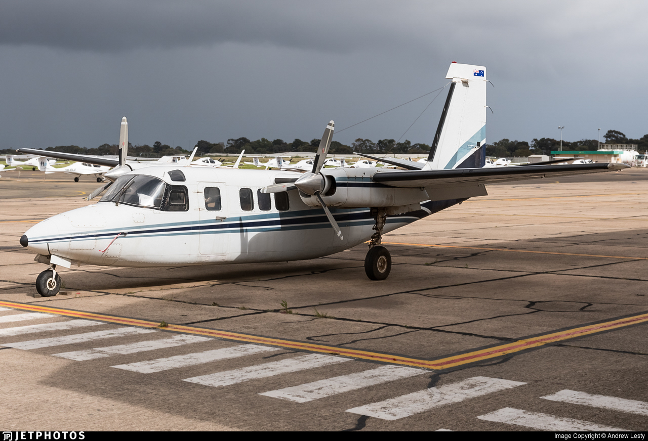 VH-NJT - Rockwell Commander 685 - Private