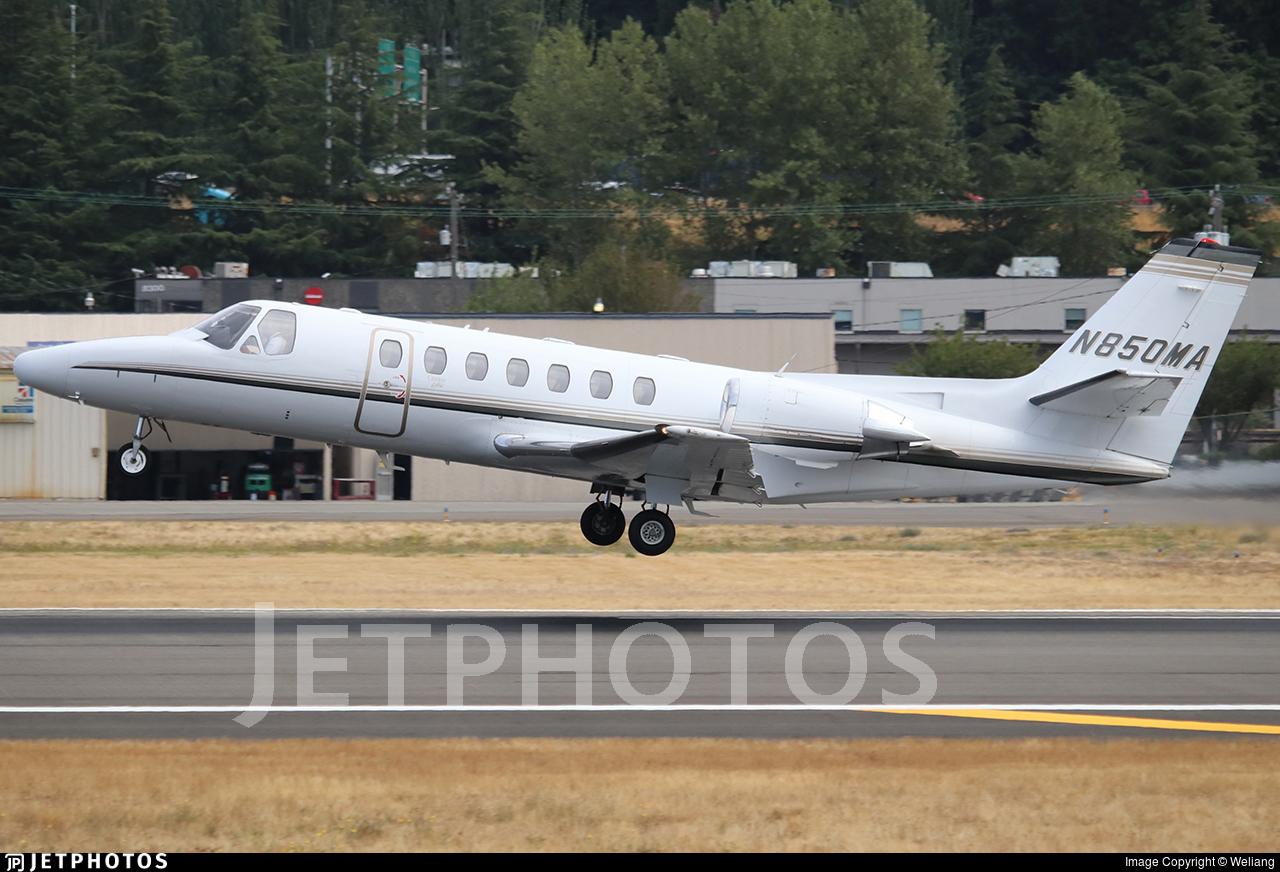 N850MA - Cessna 560 Citation Ultra - Private