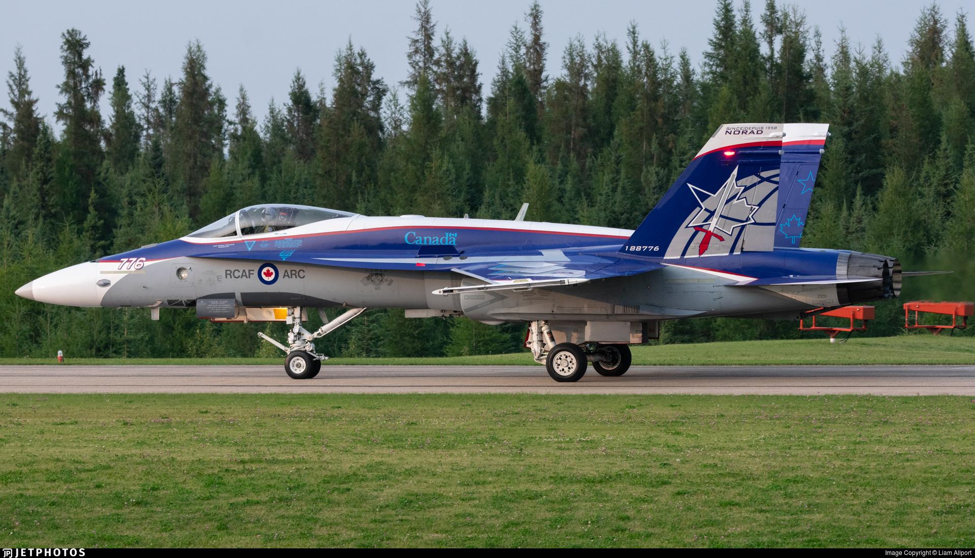 188776 - McDonnell Douglas CF-188 Hornet - Canada - Royal Canadian Air Force (RCAF)