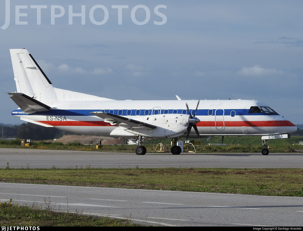 ES-NSA - Saab 340B(F) - NyxAir