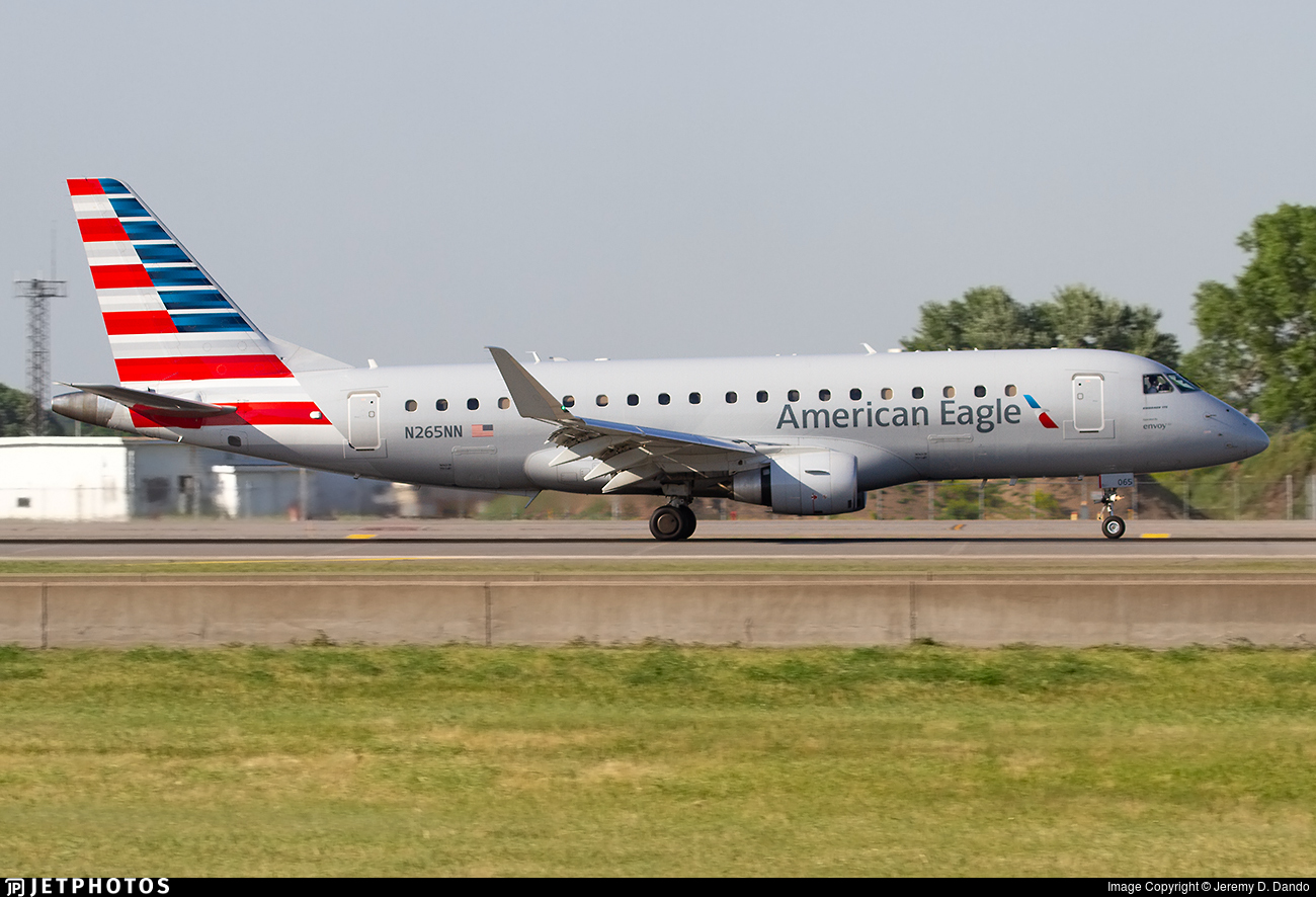 N265NN - Embraer 170-200LR - American Eagle (Envoy Air)