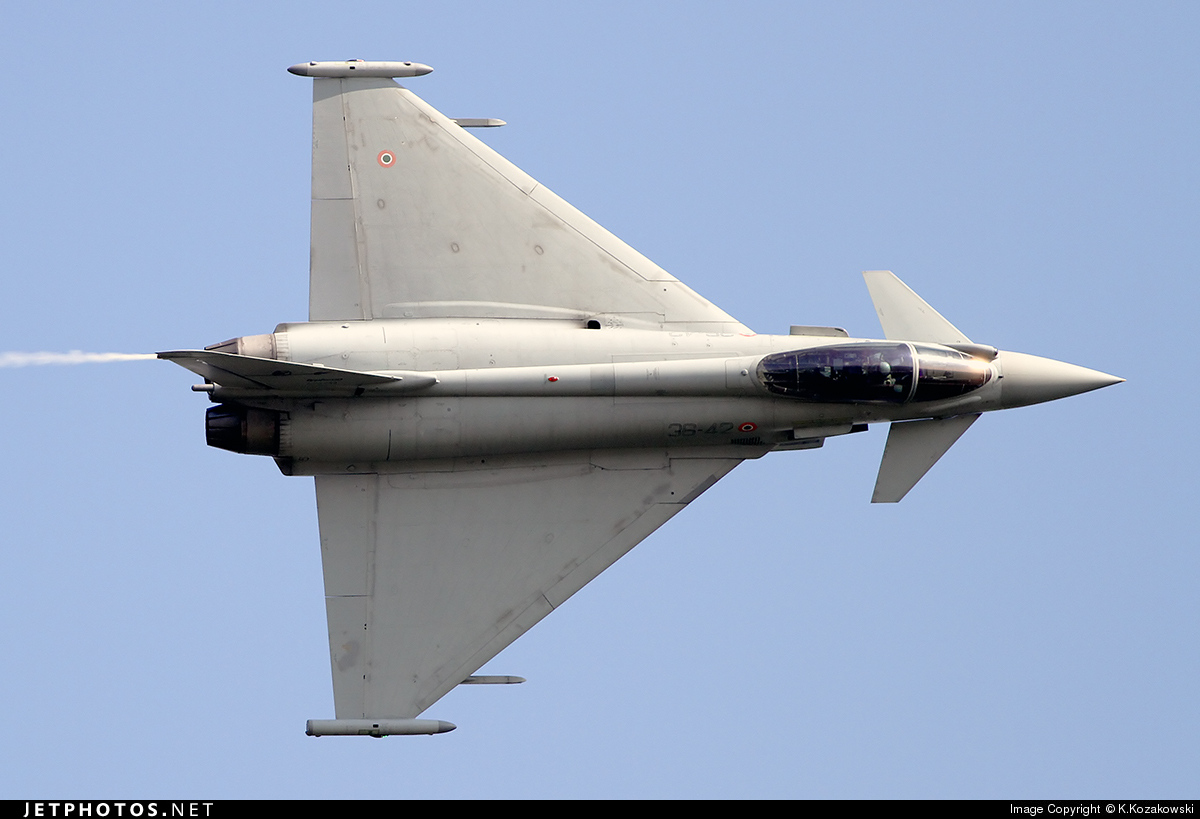MM7288 - Eurofighter Typhoon EF2000 - Italy - Air Force