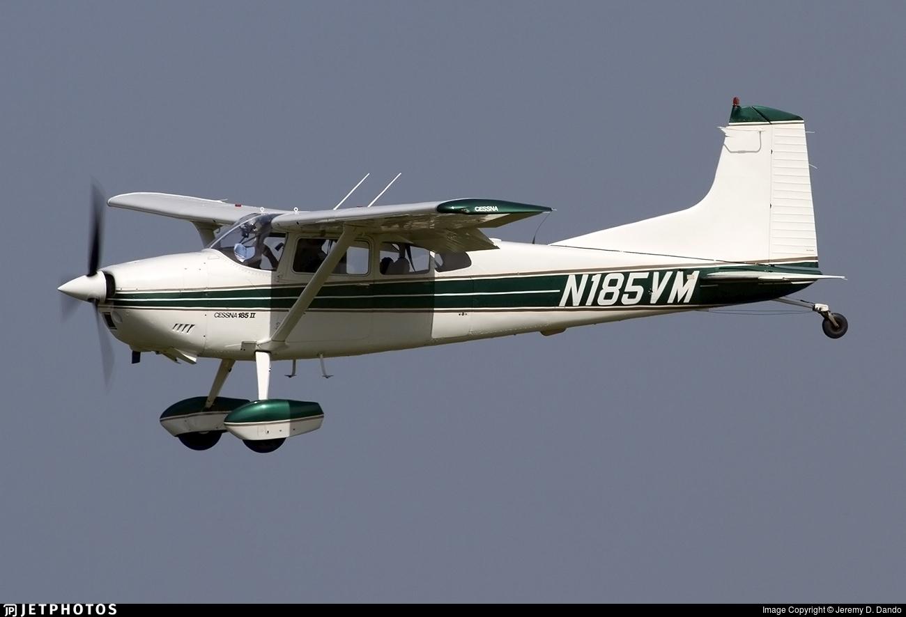 N185VM - Cessna A185F Skywagon II - Private