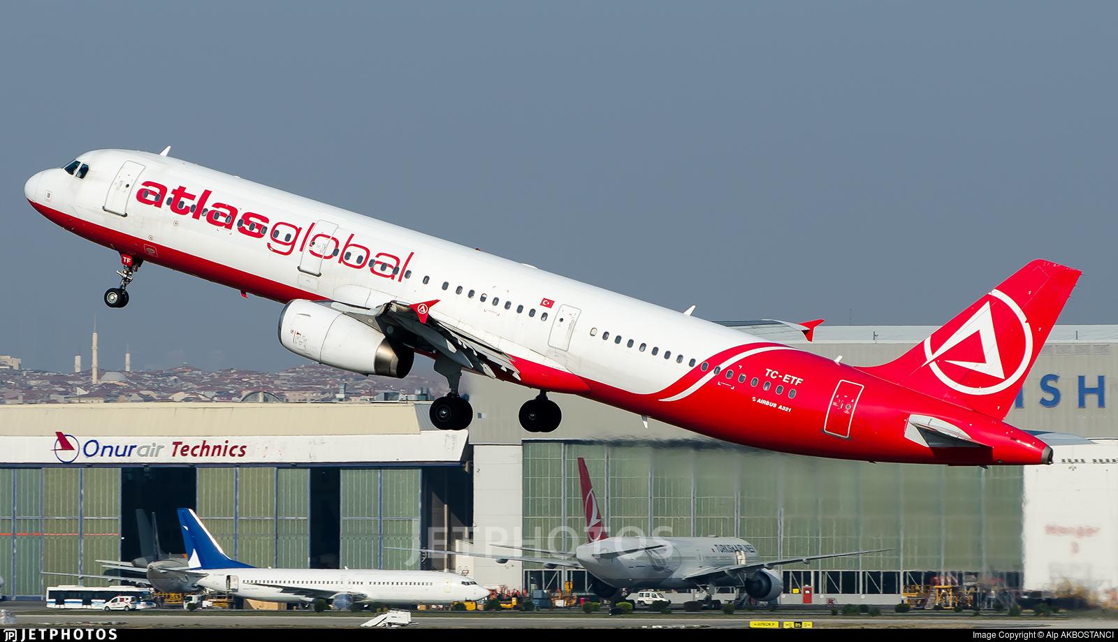 TC-ETF - Airbus A321-231 - AtlasGlobal