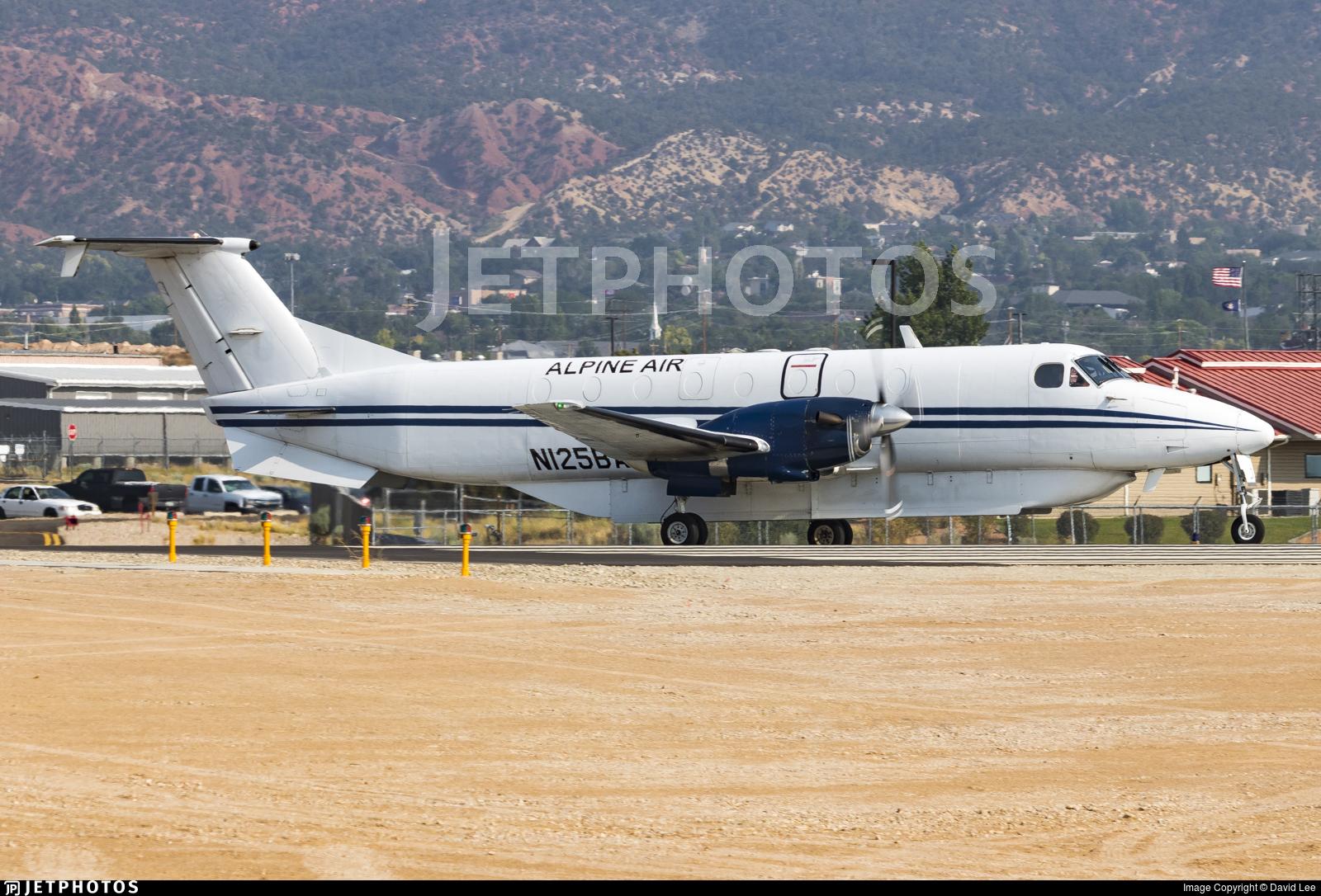 N125BA - Beech 1900A - Alpine Airlines