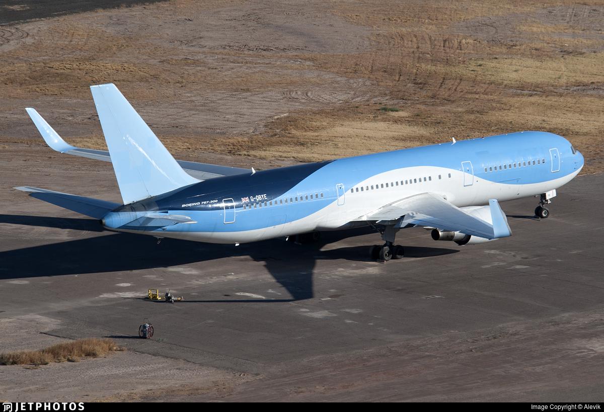 G-OBYE - Boeing 767-304(ER) - Untitled