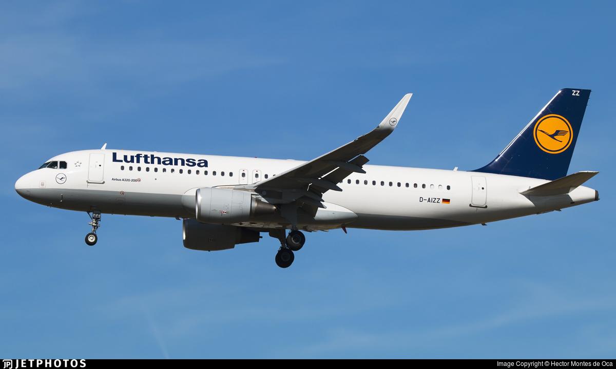 D-AIZZ - Airbus A320-214 - Lufthansa