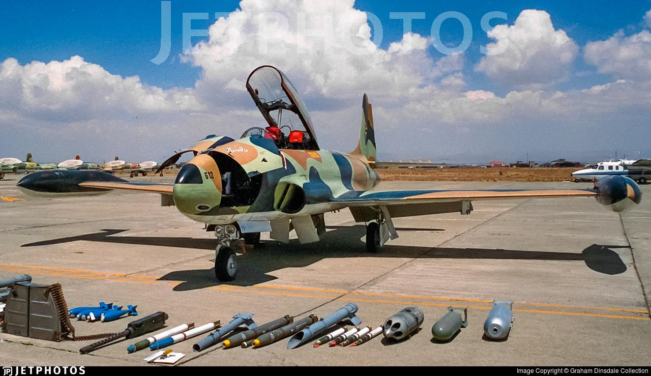 FAB-612 - Lockheed T-33A Shooting Star - Bolivia - Air Force