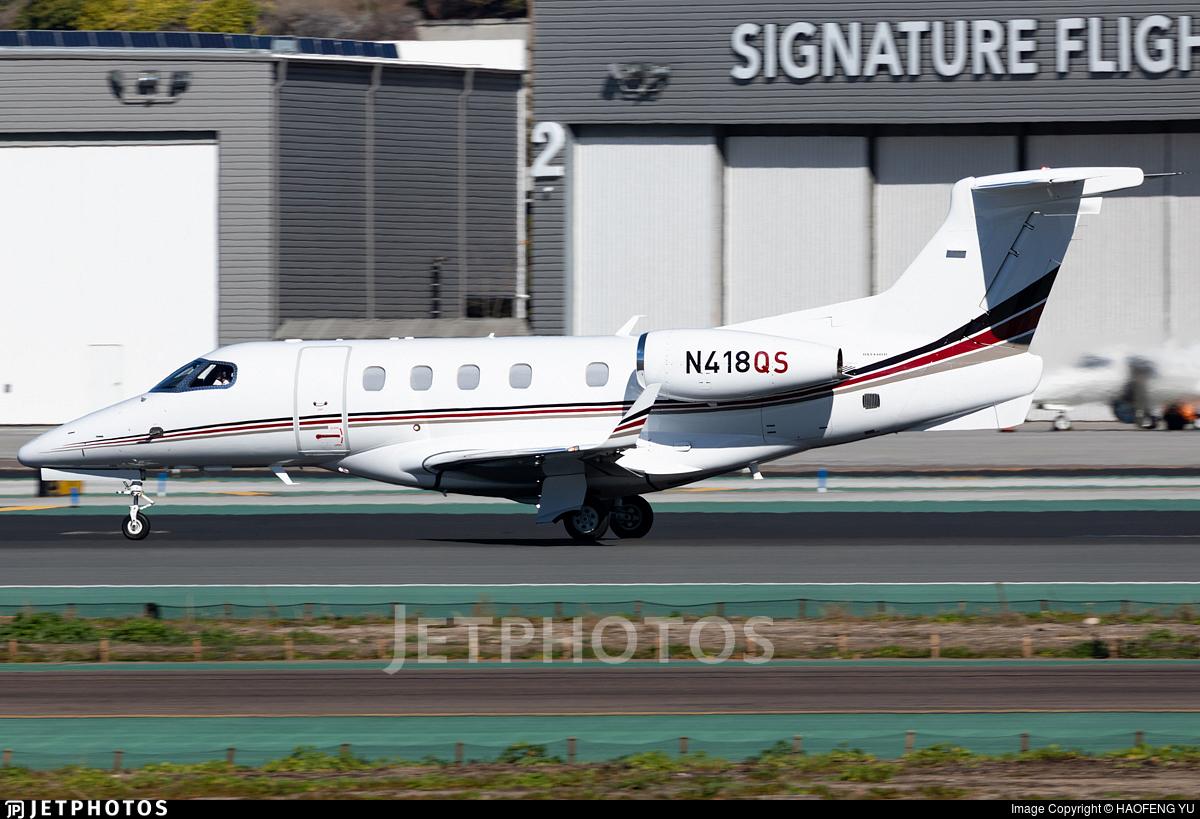 N418QS - Embraer 505 Phenom 300 - NetJets Aviation