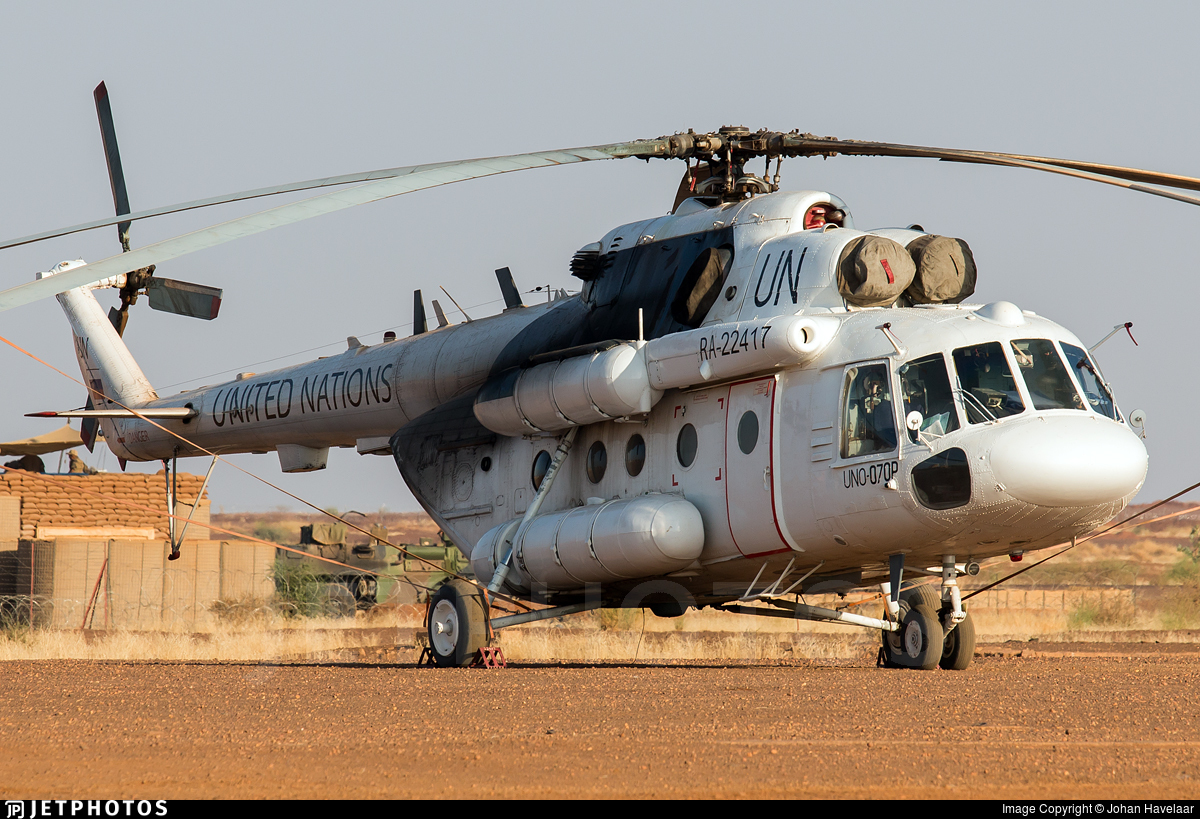 RA-22417 - Mil Mi-17M Hip - United Nations (UN)